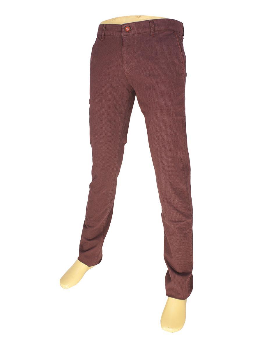 Бордові чоловічі джинси X-Foot 170-7034
