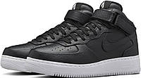 Кроссовки найк мужские NikeLab Air Force 1 Mid CMFT Black от магазина tehnolyuks.prom.ua 096-6964130