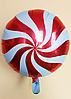 """Фольгированные шарики """"Леденец""""  Balloons 45 см Красный"""