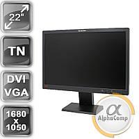 "Монитор 22"" Lenovo 2572-HB6 (TN/16:10/VGA/DVI) class A б/у"