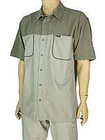 Чоловіча сорочка Cordial СО1644 в сірому кольорі