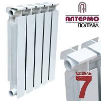 Биметаллический радиатор Алтермо 7 500/96