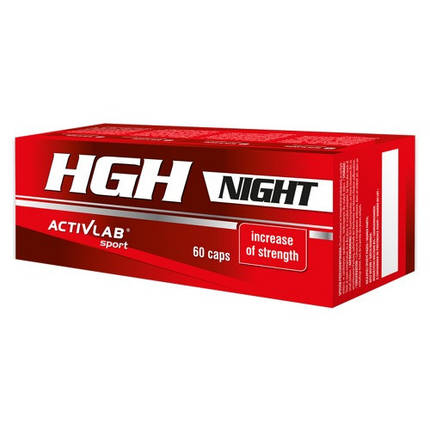 Activlab HGH Night 60 caps (на основі GABA), фото 2