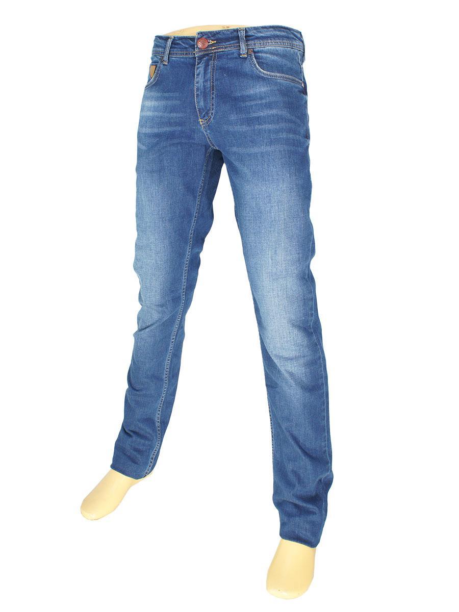 Завужені чоловічі джинси X-Foot 261-2289 в синьому кольорі