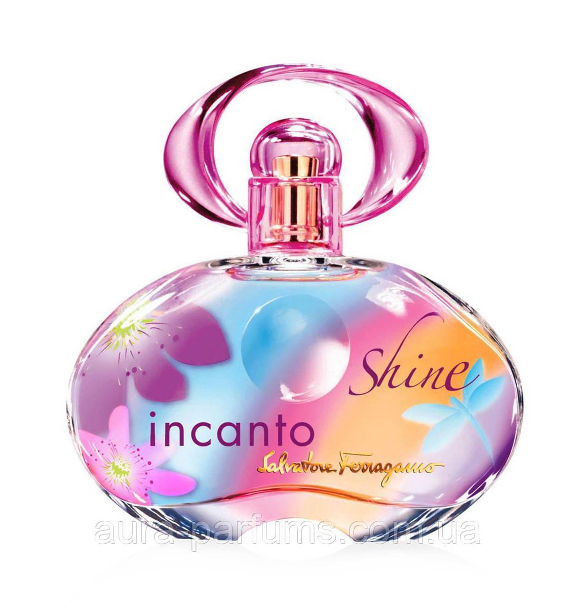 Salvatore Ferragamo Incanto Shine edt 100 ml. женский оригинал Тестер