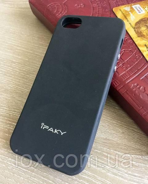 М'який TPU чохол-накладка iPaky для Iphone 5/5S