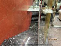 Кристаллизация мраморных ступеней