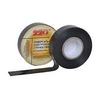 Изоляционная лента 0,15мм*18мм*20м чёрная TM 220 (72656)