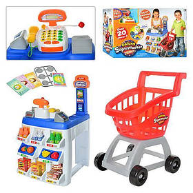 Супермаркет с тележкой Keenway 31621