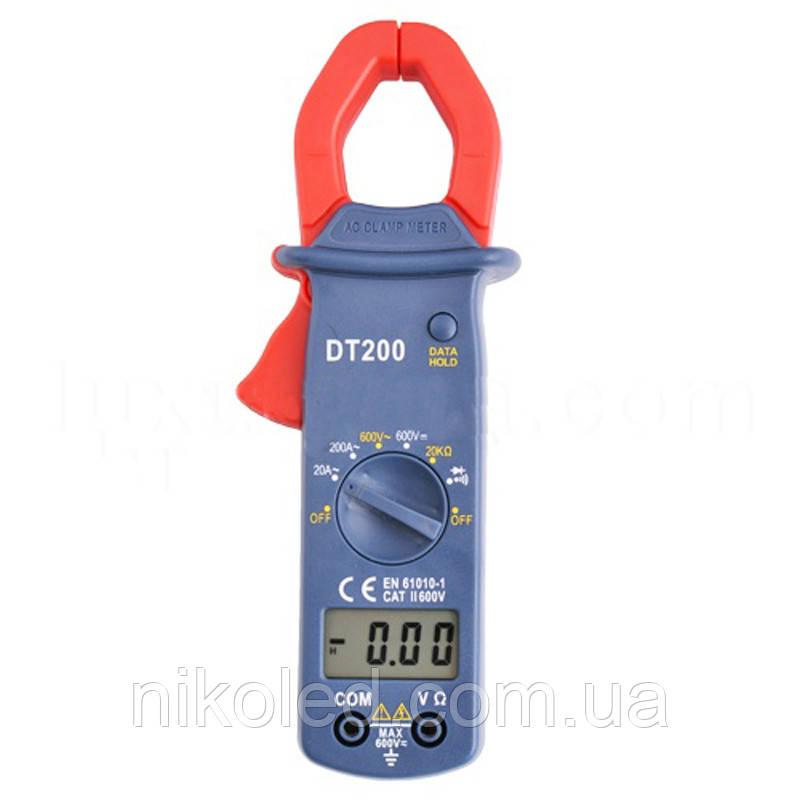 Мультиметр DT-200 кліщі