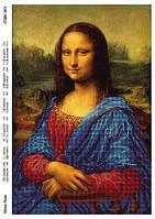 """""""Мона Лиза"""" Схема для вышивки бисером"""