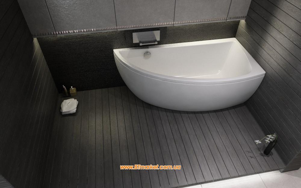 Ванна акриловая Cersanit Nano 150x75 (правая)