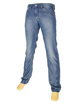 Мужские синие джинсы с потертостями Differ E-1823 SP.0385