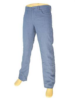 Мужские льняные джинсы Differ E-2262 SP.0209-14 в голубом цвете