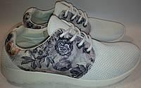 Кроссовки подростковые дышащие p37-41 LOID 001 белый