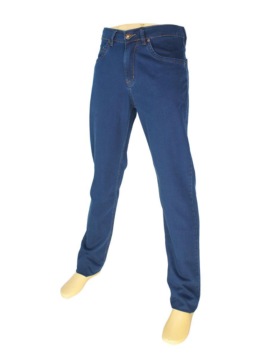 Однотонные мужские джинсы Mirac M:2630 P.N.65 в темно-синем цвете