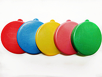 Крышка пластиковая цветная