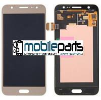 Оригинальный Дисплей (Модуль) + Сенсор (Тачскрин) для Samsung SM-A500H Galaxy A5 service (Золотой)