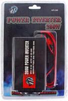 Преобразователь напряжения 12V-220V 200W (модифицированная волна), автомобильный инвертор 12В-220В