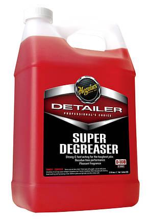 Концентрат супер обезжиривающее средство - Meguiar's Detailer Super Degreaser 3,78 л. (D10801), фото 2