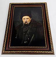 Портрет Т.Г. Шевченка в багетной раме