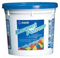 Кислотный очиститель для керамической плитки Keranet Polvere.Mapei. 1 кг