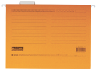 Подвесной файл А4, картон, оранжевый