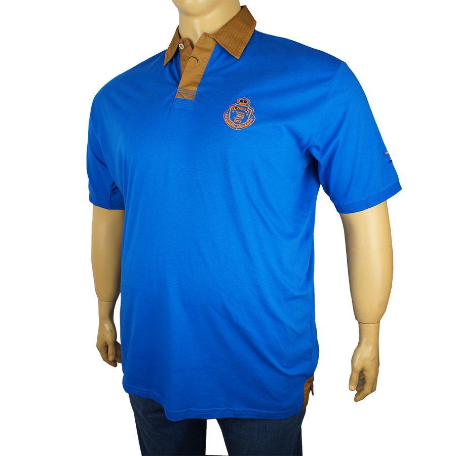 Мужская тенниска Dekons 1243 синего цвета