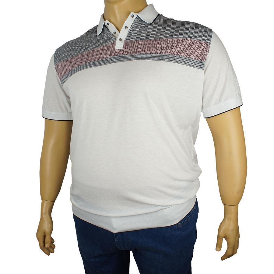 a8fe23b8ede Мужская тенниска Tony Montana J-1132 белая - Магазин мужской одежды