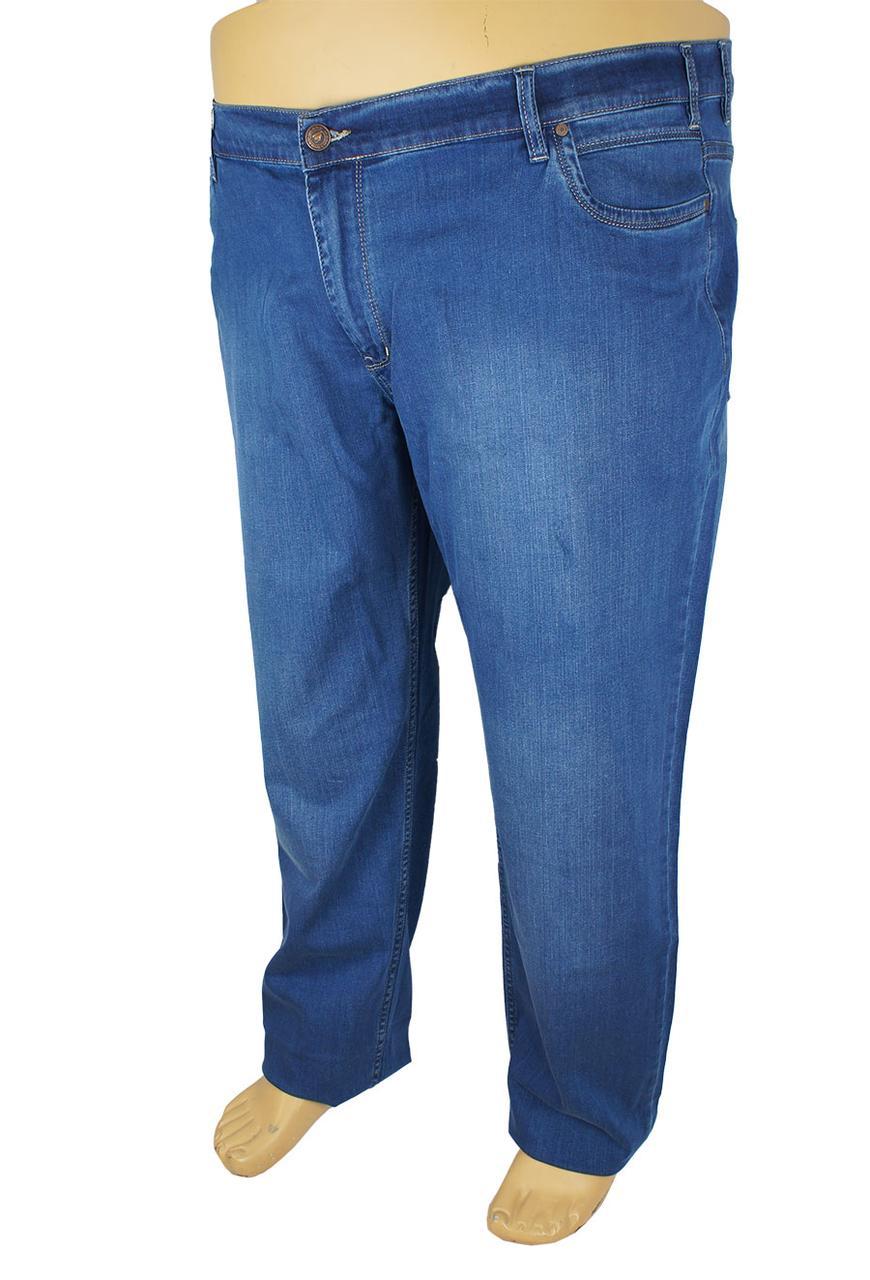 Мужские синие джинсы Mirac M:2614 BT P.N.362 в большом размере