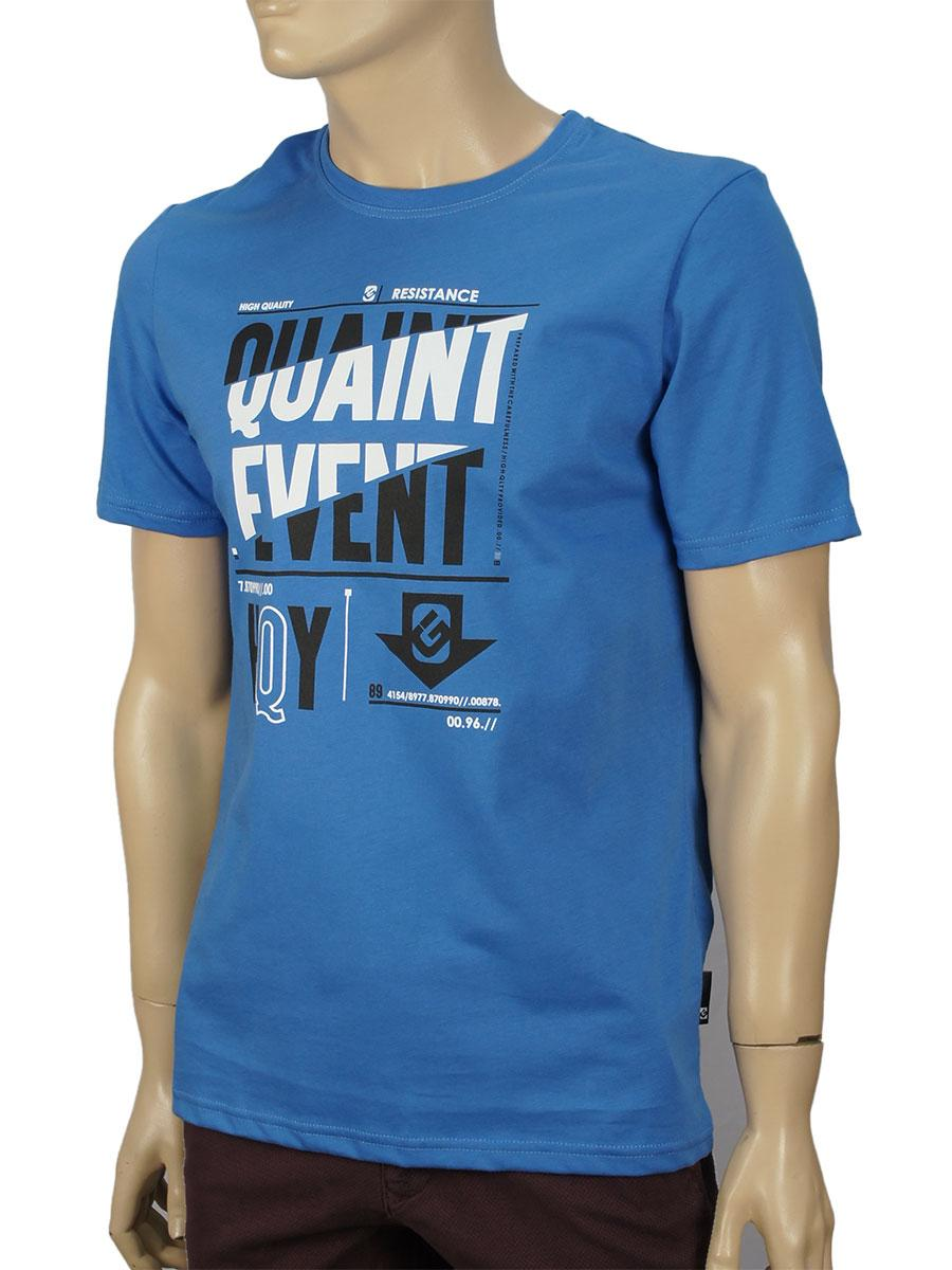 Футболка мужская GT 5902 синяя