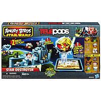 Настольная игра  Angry Birds Star Wars Telepods - Star Destroyer Set (Hasbro)