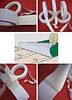 Тканевая двухсторонняя клеящая лента HPX 18151 для монтажа ковровых покрытий 50мм х 25м х 0,25 мм, фото 2