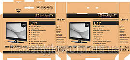 Телевизор LED backlight tv L17 15.6.
