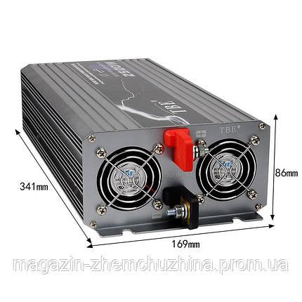 Преобразователь 12V-220V 2500W, фото 2