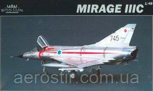 MIRAGE IIIC 1/48 EDUARD R0001