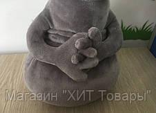 "Мягкая игрушка ""Ждун"" серый, Золушка 256-1, фото 2"