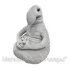 "Мягкая игрушка ""Ждун"" серый, Золушка 256-1, фото 3"