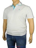 Тенниска мужская Polo Ralph Lauren 0290 белая батал