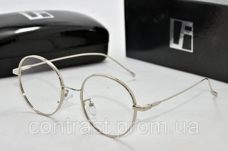 Имиджевые очки Linda Farrow 3319 серебро