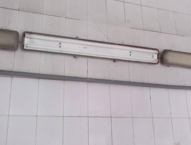 Инсталляция светодиодных светильников в филиале «ЛИБІДЬ-АВТО» города Киева 1