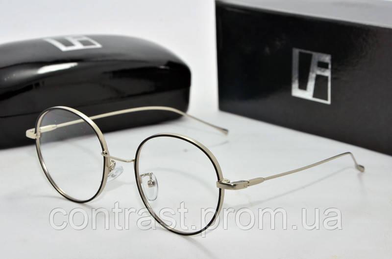 Имиджевые очки Linda Farrow 3319 серебро черн