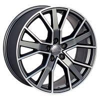 Литые диски Zorat Wheels BK5131 R18 W8 PCD5x112 ET35 DIA66.6 GPMatt