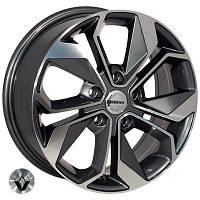 Литые диски Zorat Wheels BK5168 R16 W6.5 PCD5x114,3 ET45 DIA66.1 GP
