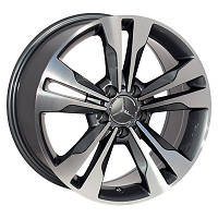 Литые диски Zorat Wheels BK754 R17 W8 PCD5x112 ET35 DIA66.6 GP