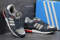 Кроссовки Adidas Zx 750 темно голубые 2581