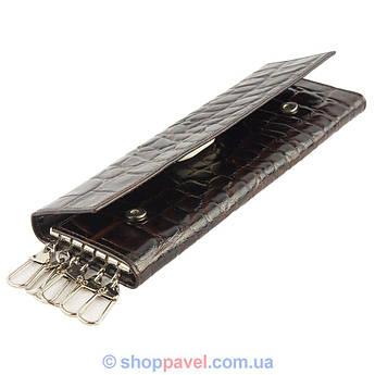 Ключница мужская Canpellini 0477 темно-коричневая