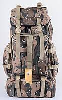Походный практичный рюкзак из прочного полиэстера 30 л. Mountain backpack 8701, камуфляж