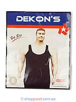 Майка Dekons большого размера черная 9999B чорн.