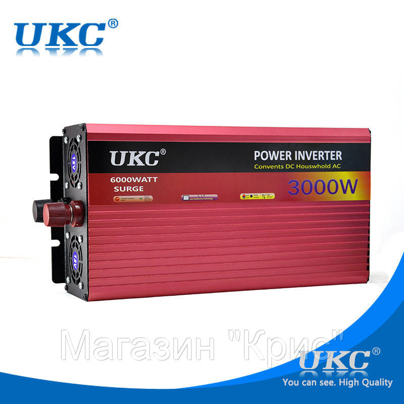 Преобразователь UKC 12V-220V 3000W